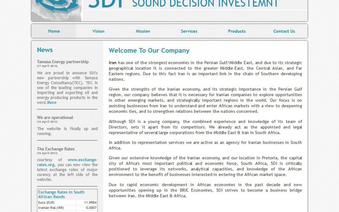 Sound Decision Investment