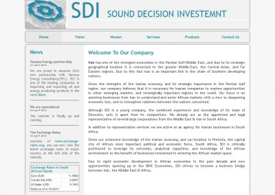 Sound Decision Investment